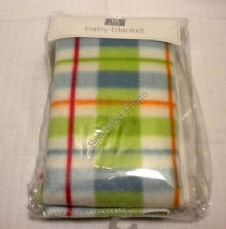 Green/Red check Blanket